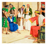 The Parables That Jesus Told Giclee Print by Clive Uptton