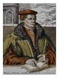 Thomas Muntzer, C.1600 Giclée-tryk af  German School