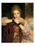 Mrs. Abington, 1771 Giclee Print by Sir Joshua Reynolds