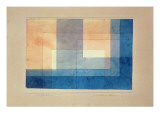 House on the Water, 1930 Gicl&#233;e-Druck von Paul Klee