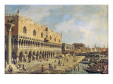 The Riva Degli Schiavoni, Venice Giclee Print by Canaletto 