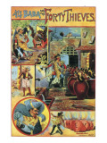 Ali Baba and the Forty Thieves Giclee Print by  English School