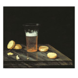 Still Life with Beer Glass Gicl&#233;e-Druck von Johann Georg Hinz