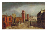 The Arsenale, Venice Giclee Print by Michele Marieschi