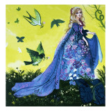 Giselle of the Woods Giclee Print by Gerry Embleton