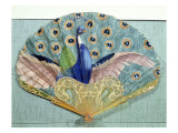 Peacock Fan, Circa 1905 Giclee Print by  Thomasse