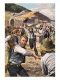 California Gold Rush Giclee Print by  Payne