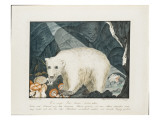 The White Bear, 1844 Giclee Print by Aloys Zotl