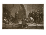 Cranmer at Traitors' Gate Giclee Print by Frederick Goodall