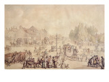 Elephant and Castle Giclee Print by  Rowlandson