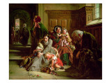 Waiting for the Verdict Giclee Print by Abraham Solomon