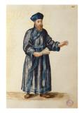 Venetian Missionary in China Giclée-Druck von Jan van Grevenbroeck