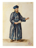 Venetian Missionary in China Giclee Print by Jan van Grevenbroeck
