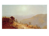 South Mountains, Catskills Premium Giclee Print by Sanford Robinson Gifford
