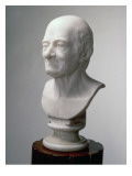Bust of Voltaire, C.1770 Giclee Print by Jean-Antoine Houdon