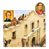 Defence of the Alamo Giclee Print by John Keay