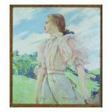 A Breezy Day, C.1898 Giclee Print by Robert Payton Reid