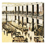 Lloyds Building in 1965 Giclee Print by  English School