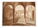 Palazzo Caetani All'Orso, 1833 Giclee Print by Agostino Tofanelli