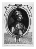 Louis Vii the Young Giclee Print by Nicolas de Larmessin
