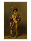 A Swiss Papal Guard Giclee Print by Etty