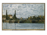 The Seine at Bougival, 1873 Giclee Print by Alfred Sisley