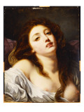 A Young Woman, Bust Length Giclee Print by Jean-Baptiste Greuze