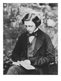 Portrait of Lewis Carroll Giclee Print by  English Photographer