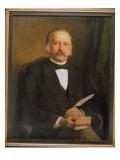 Theodore Fontane, 1883 Premium Giclee Print by Karl Breitbach