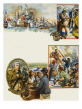 Scrapbook of the British Sailor Giclee Print by Eric Parker