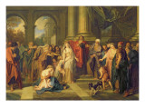 Susanna Accused of Adultery Giclee Print by Antoine Coypel