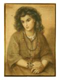 Calliope Coronio, 1869 Giclee Print by Dante Gabriel Rossetti