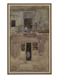 The Balcony, C.1888 Giclee Print by James Abbott McNeill Whistler
