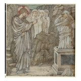 The Raising of Lazarus Giclee Print by Edward Burne-Jones