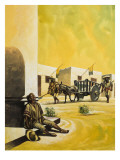 Mexico under Santa Anna Giclee Print by Ron Embleton
