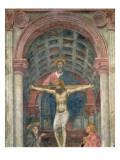 The Trinity, 1427-28 Giclee Print by Tommaso Masaccio