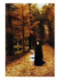 The Widow's Walk, 1887 Giclee Print by Horace De Callias