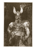 A Viking Chief Giclee Print by Carl Haag