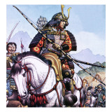 Japanese Samurai Giclee Print by Pat Nicolle