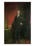 Chief Justice Marshall Giclee Print by Chester Harding