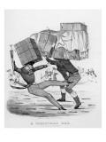 A Christmas Box, 1836 Giclee Print by  English School