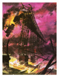 The Tay Bridge Disaster Giclee Print by Andrew Howat