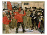 The Salvation Army Giclee Print by Jean Francois Raffaelli