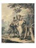 General Jean Victor Moreau Giclee Print by Jacques Francois Joseph Swebach