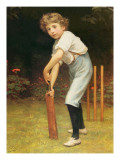 Captain of the Eleven, C.1889 Giclee Print by Philip Hermogenes Calderon