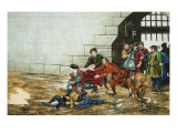 The Sergeant at Arms Giclee Print by Ron Embleton