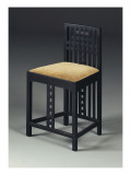 Sidechair, C.1905/10 Giclee Print by Charles Rennie Mackintosh