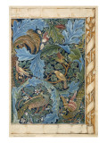 Design for Tapestry Reproduction procédé giclée par Morris