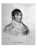 Ned Turner, Engraved by Hopwood Giclee Print by George Sharples