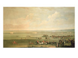 The Starting Post at Newmarket Giclee Print by John Wootton